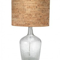 Recycled French Bottle Lamp - VivaTerra