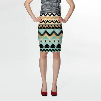 Tribal Mix by Ornaart (Fitted Skirt)
