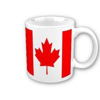 Canada Flag Coffee Mug: Amazon.ca: Home & Garden