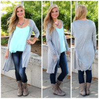Everyday Miracles Cardi - H. Grey