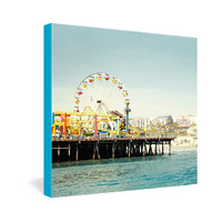 Bree Madden Pacific Wheel Gallery Wrapped Canvas