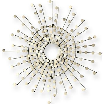 Magnetic Wall Art Brushed Nickel