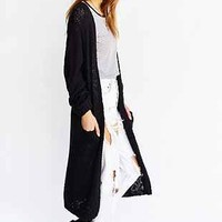 Cheap Monday Vain Maxi Cardigan - Urban Outfitters