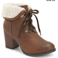 Fold-Over Bootie