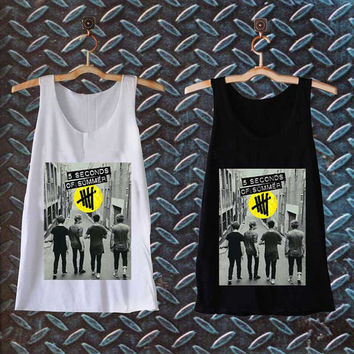 5 second of summer last boys best customized design for Tank top Mens and Tank top Girls , sizes S - XXL