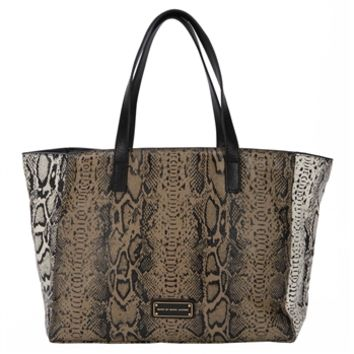 Marc by Marc Jacobs Here's The T Color Blocked Snake Tote at Von Maur