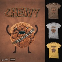 Chewy Chocolate Cookie Wookiee on Threadless