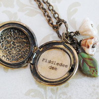 Gone With the Wind - Women&#x27;s Locket - Fiddledee dee