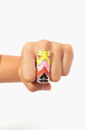 Tribal Pop Knuckle Ring