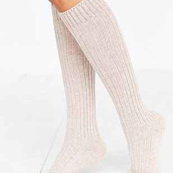 SOXIETY Ribbed Cashmere Knee-High Sock - Urban Outfitters