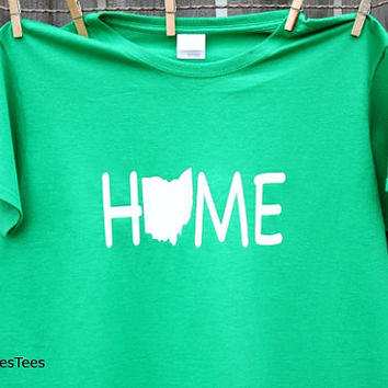 Ohio Home Shirt, T-shirt, Ohio Home Tshirt,
