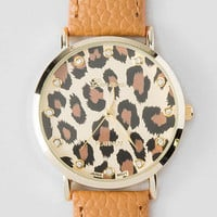 LAVACA LEOPARD WATCH