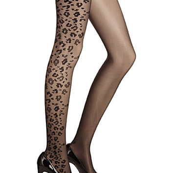 Rua leopard-print tights