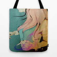 LOVE LIFE Tote Bag by Saskia Schnell