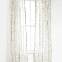 Pine Cone Hill Genevieve Platinum Voile Window Panel