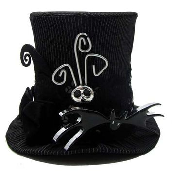 Disney Nightmare Before Christmas Jack Skellington MINI Top Hat ...
