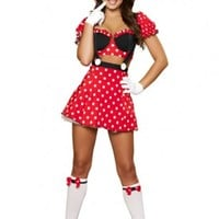 3 PC Mousey Mistress Costume @ Amiclubwear costume Online Store,sexy costume,women's costume,christmas costumes,adult christmas costumes,santa claus costumes,fancy dress costumes,halloween costumes,halloween costume ideas,pirate costume,dance costume,cos