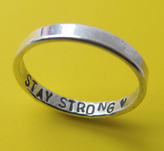 Inner Message Custom Ring