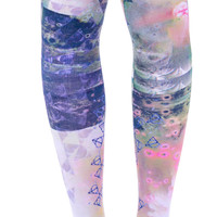 Private Arts White Magic Thigh High Sox Multi One