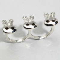 fredflare.com | 877-798-2807 | Bunch O&#x27; Bunnies Ring