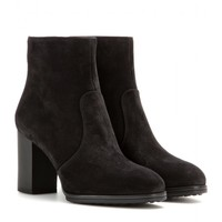 tod's - suede ankle boots