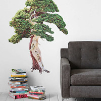 Walls Need Love Twisty Tree Wall Decal - Urban Outfitters