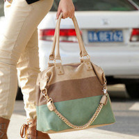 [US$ 40.49] Cowhide Square Chain Shoulder Bag(40cm*13cm*33cm)
