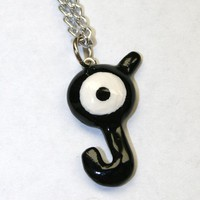 Unown Pokemon Initial Necklace