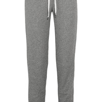 CLU - Cotton-blend terry track pants