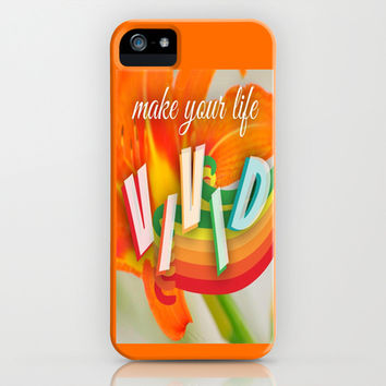 Vivid iPhone & iPod Case by Laura Santeler