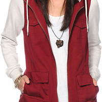 Empyre Lamont Dark Red Jacket