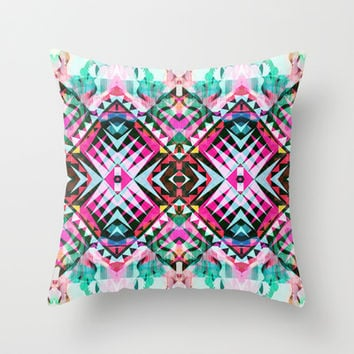 Mix #546 Throw Pillow by Ornaart