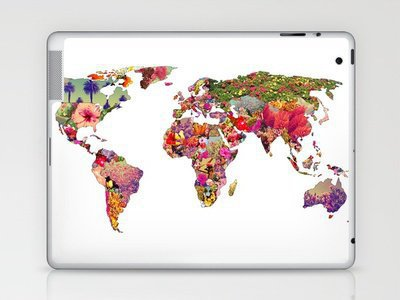 It's your world - Laptop & iPad Skin by Bianca Green | Society6