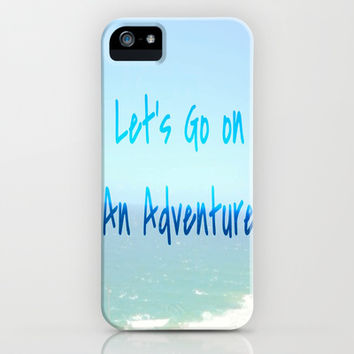Adventure iPhone & iPod Case by Laura Santeler