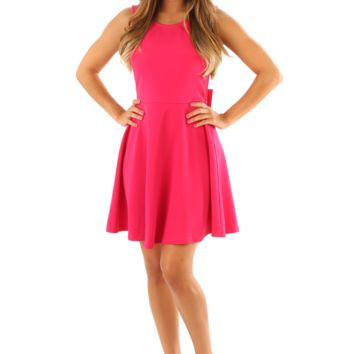 Who Owns My Heart Dress: Magenta