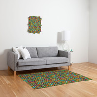 Betsy Olmsted Acid Knit Woven Rug