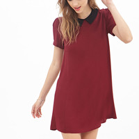 Colorblocked Collared Dress - Dresses - 2000119386 - Forever 21 UK