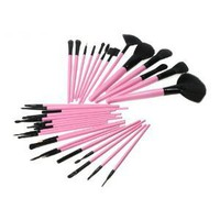 M.S New 32 PCS Pro Cosmetic Makeup Brush Set Kit With Pink Case - Ideal For Your Daily Make Up