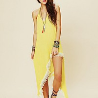 Free People Hi Rise Halter Dress