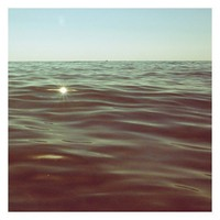 Fine Art Photograph - Nature Photograph - Lake Michigan - Summer - Water - Beach Photograph -  Gold Dust- Signed by Alicia Bock