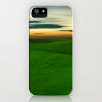 Rolling Hills iPhone & iPod Case by Texnotropio