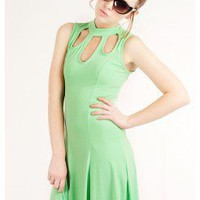 LOVELY TEARDROP MINT DRESS @ KiwiLook fashion