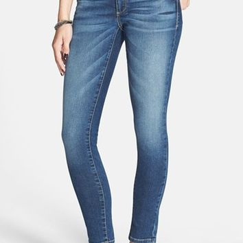 1822 Denim 'Nakita' Skinny Jeans (Medium) (Juniors)