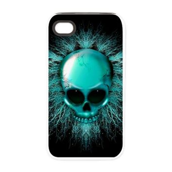 Ghost Skull iPhone 4/4S Tough Case