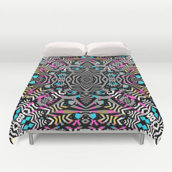 Mix #586 Duvet Cover by Ornaart
