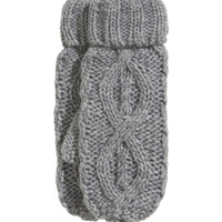 H&M - Cable-knit Mittens