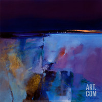 Blue Horizon Art Print by Peter Wileman at Art.com
