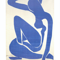 Blue Nude I, c.1952 Art Print by Henri Matisse at Art.com