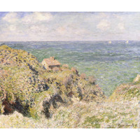 Varengeville Gorge, 1882 Giclee Print by Claude Monet at Art.com