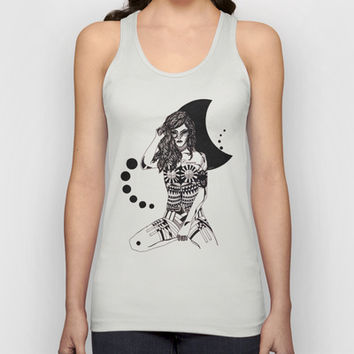 Cancer - Hand drawn Unisex Tank Top by Heaven7 | Society6